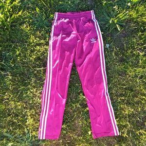 adidas 3line pants xs